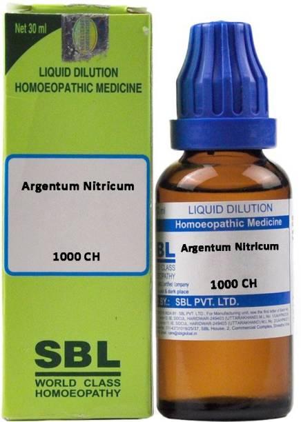 SBL Argentum Nitricum 1000 CH Dilution