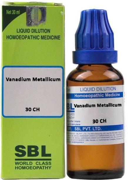 SBL Vanadium Metallicum 30 CH Dilution