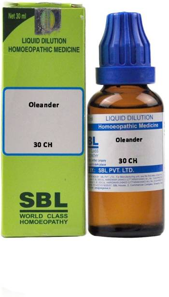 SBL Oleander 30 CH Dilution