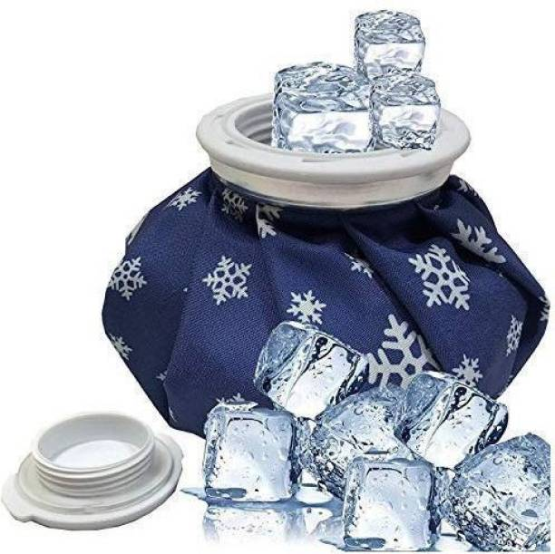 care flame Ice bag for pain relief hot and cold Ice Cold Pack Reusable Ice Bag Hot Water Bag for Injuries,Hot & Cold Therapy and Pain Relief Hot & Cold Pack