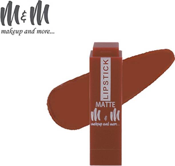 M&M Matte Lipstick Long Lasting Water Proof 24 Hour Stay
