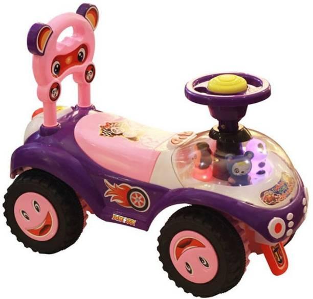 Kiddies Express GJ Panda Purple Dream Rider
