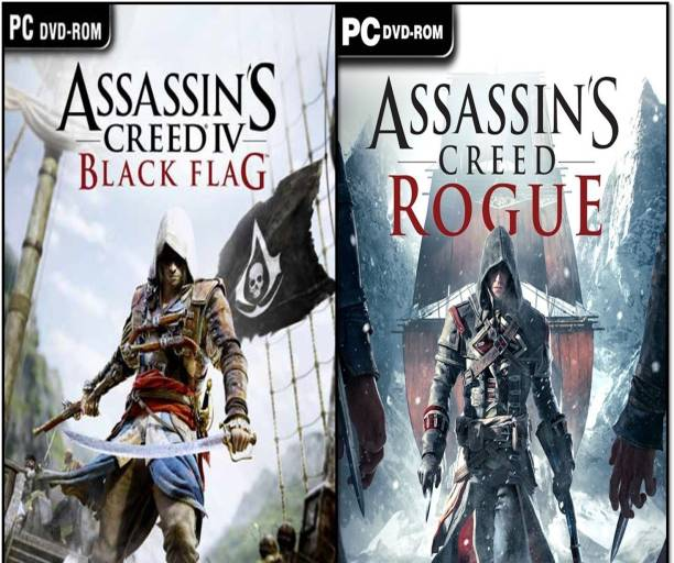 Assassins Creed Black Flag and Rogue Top Two Game (OS : 64 Bit Only) (Offline Only) (Regular)