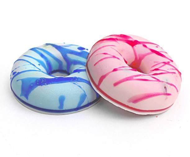 the bath stories Handmade Organic Moisturizing Bath Soap Donut Shape 2x100gms.)