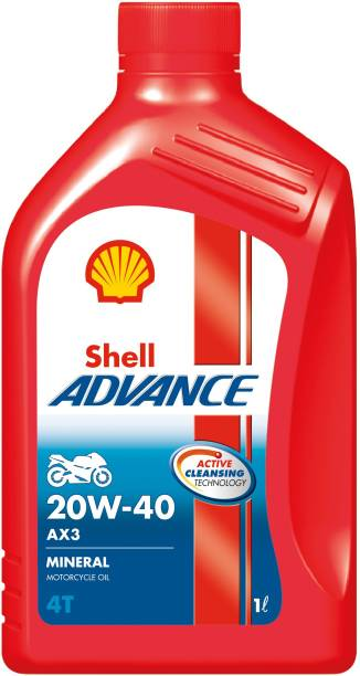 Shell Advance AX3 4T 20W-40 High Performance Engine Oil