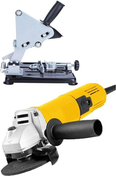 MLD Grinding Angle Grinder Angle cutter machine 4 Inch 850W 11000Rpm for Grinding, Cutting, Sharpening, Polishing, Removing With DIYCast Iron Stand Angle Grinder Holder 100-125 Angle Grinder Angle Grinder
