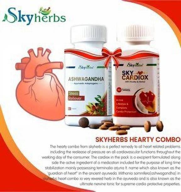 Skyherbs Combo of Ashwagandha & Cardiox