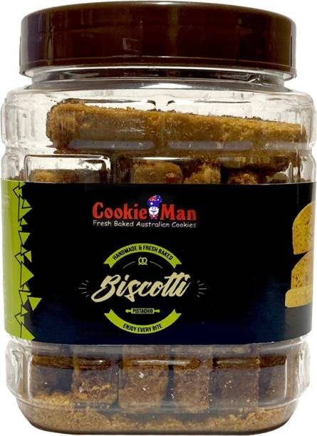 Cookieman Pistachio Biscotti - 250g Pack Biscotti