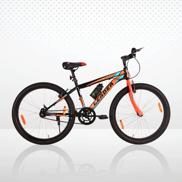 LEADER City Surfer MTB 26T Mountain Bicycle without Gear Single Speed For Men 26 T Mountain Cycle