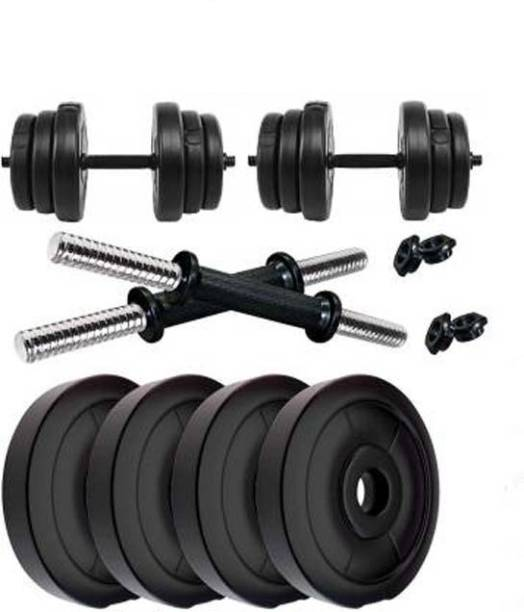 sai kirpa traders (Pvc 3kg X 4 = 12kg) Adjustable Dumbbell
