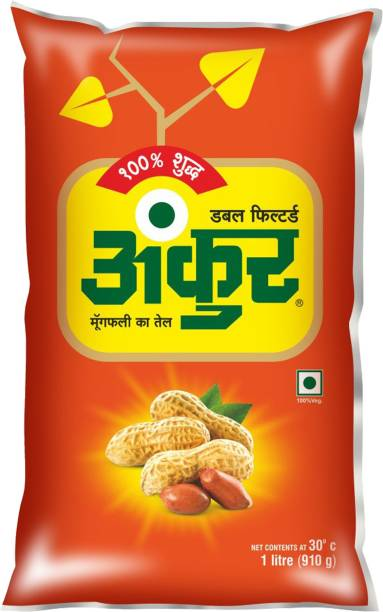ANKUR Oil Groundnut Oil Pouch