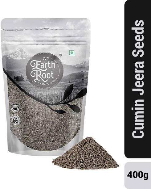 EARTHROOT Natural Whole cumin Seed/Jeera Seeds 400g