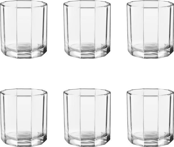 TREO (Pack of 6) Octron 6 Pcs Set Glass Set