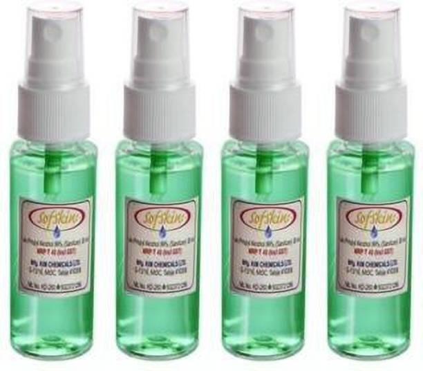 Sofskin  Spray, 30 ml (Pack of 4) Sanitizer Spray Bottle
