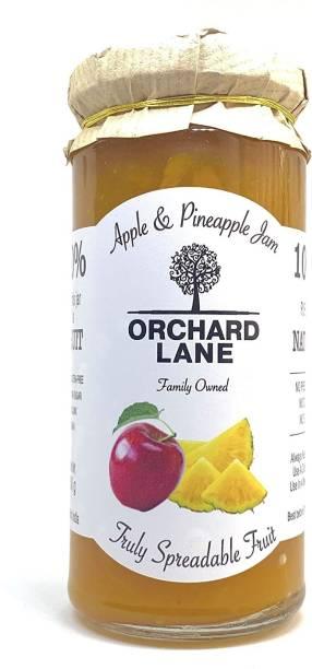 Orchard Lane 80% Fruit - Apple & Pineapple Jam -280 GMS, No preservatives or Chemicals 280 g