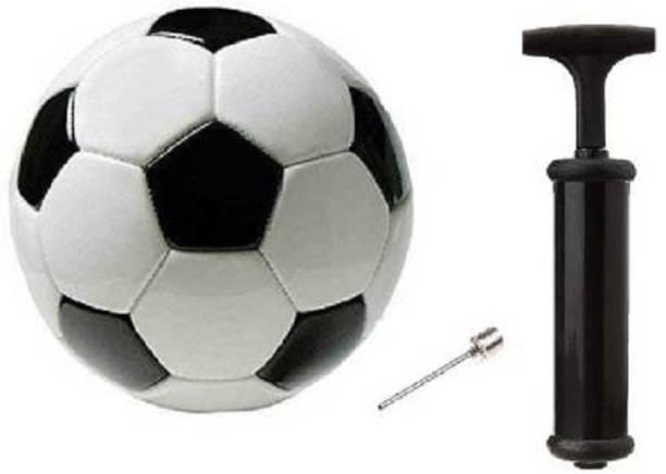 Kiraro Football Size-5 With Air Pump Football - Size: 5