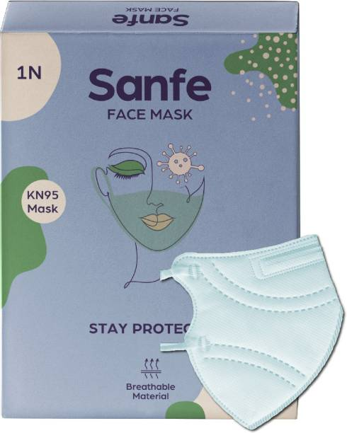 Sanfe KN95 Protective Face Mask with PM 2.5 & PM 10 Filter KN95