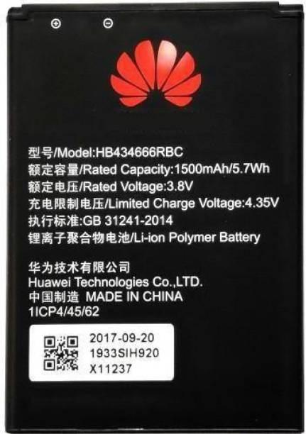 Indclues Mobile Battery For  Airtel 4G Portable WiFi Hotspot 3000– E5573Cs-609 Data Card Device HB434666RBC (1500mAh)