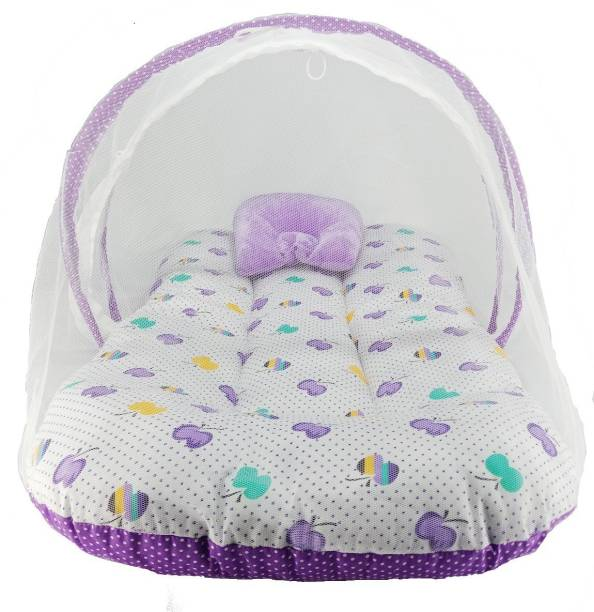 Fly Kids Cotton Adults Super premium Cotton Purple Apple Mosquito Net Mosquito Net