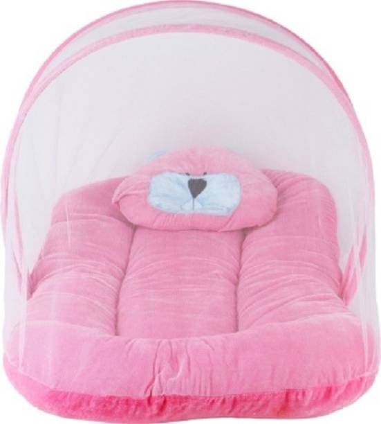 Fly Kids Cotton Adults Super Premium Velvet Pink Mosquito Net Mosquito Net