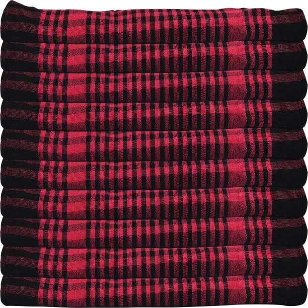 GOWRI TEX Kitchen Towel /dining towel/napkin/Manan kitchen/kitchen Waste Cloth Multicolor Napkins Pack Of 10 Multicolor Napkins