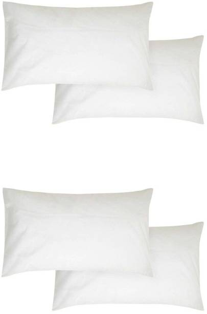 Zarglic Polyester Fibre Solid Sleeping Pillow Pack of 4