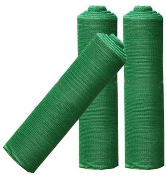 Qsaurt 90% (percent) Quality BEST QUALITY of Garden Shade Green Net of size, 10feetx15feet for Garden/Parking/Home/Sun Protection/Lawn/Shade/Balcony/plants nursery/Fish Ponds Portable Green House (Green) Portable Green House