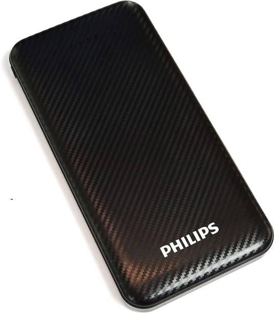 PHILIPS 10000 mAh Power Bank (10 W, Fast Charging)