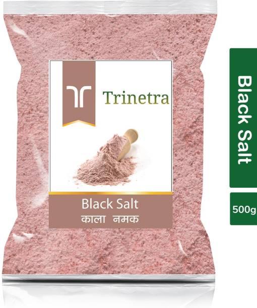 Trinetra Best Quality Black Salt (Kala Namak)-500gm (Pack Of 1) Black Salt