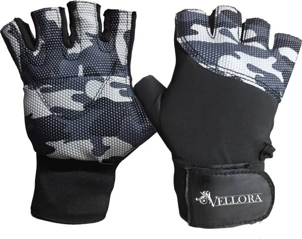 Vellora Camo Exercise Weight Lifting Gym & Fitness Gloves
