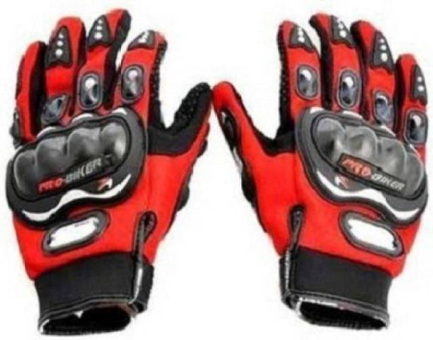 AOWBIKES Cycling Gloves (Red) Cycling Gloves