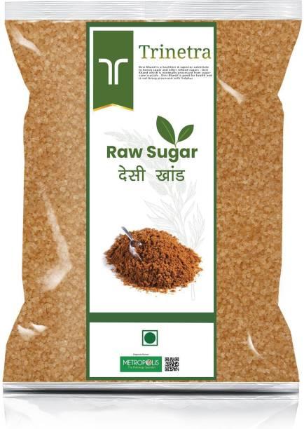 Trinetra Best Quality Desi Khand (Raw Sugar)-2Kg (Packing) Sugar