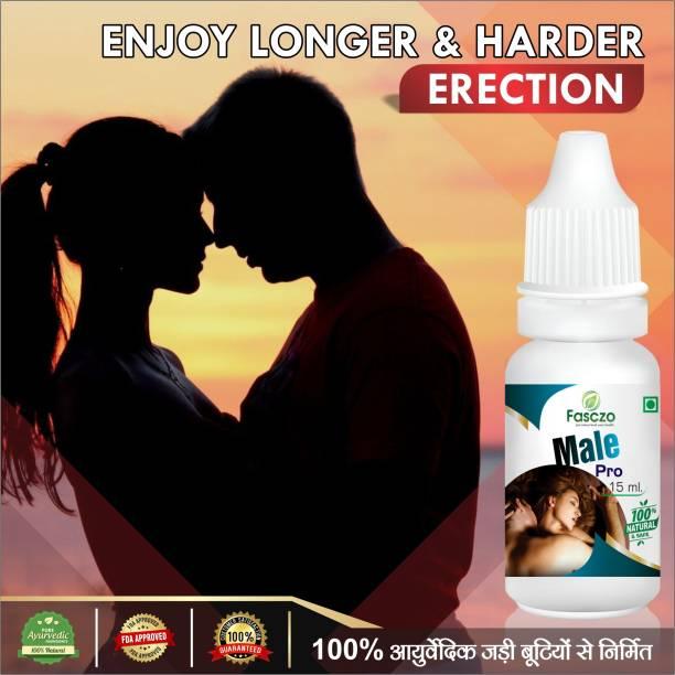 Fasczo Male Pro Ayurvedic Oil For Men's Health care 100% Herbal