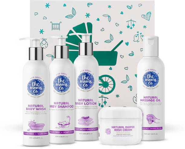 The Moms Co. Baby Complete Care Gift Set