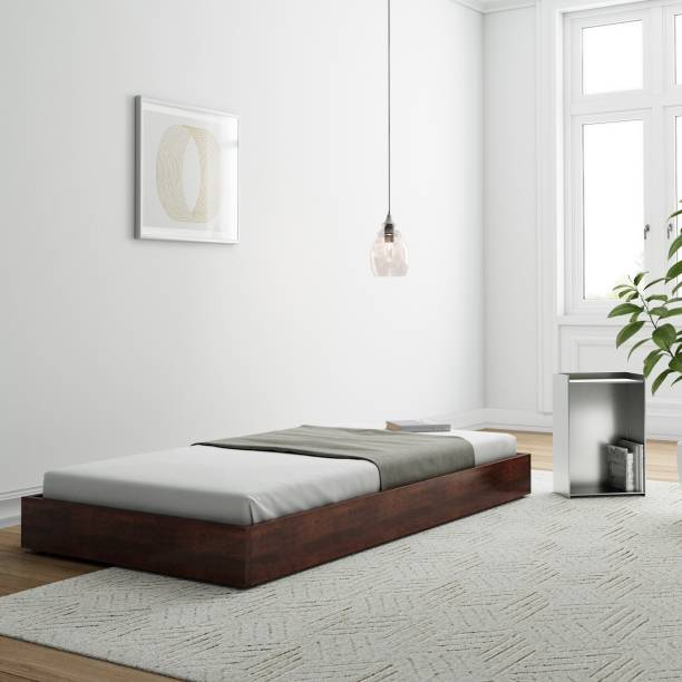 Flipkart Perfect Homes Sheesham Wood Solid Wood Single Bed