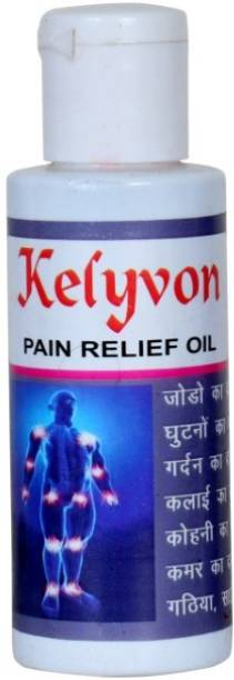 Kelyvon 100% pure Dard go painrelief oil-60ml pack of 1 Liquid Liquid