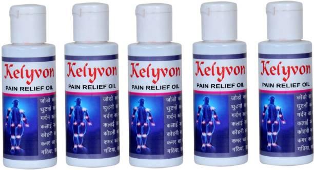 Kelyvon 100% pure Dard go painrelief oil 60ml pack of 5 Liquid Liquid