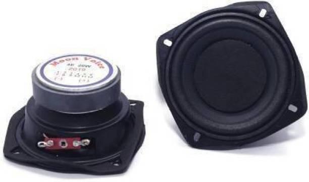 E-ivsaJ 4 Inch Powerful Subwoofer 4 Ohm 30 Watt 4 Inch Subwoofer 4 Ohm 30 Watt for Home Theater Subwoofer (Passive , RMS Power: 30 W) 4'' inch woofer Audio Speaker 4ohm 50w HI-FI Speaker Sound Bass Subwoofer Subwoofer