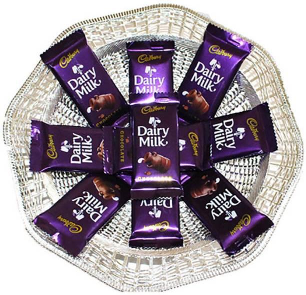 Cadbury Surprise Birthday Gift chocolate Hamper With Beautiful Basket Bars