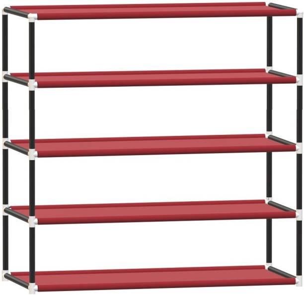 KOnline book stand Metal Semi-Open Book Shelf