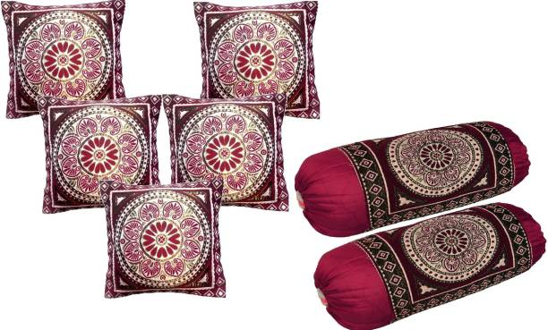 Shopway Collection Floral Cushions & Bolsters Cover