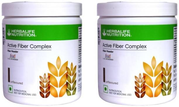 Herbalife Active Fiber Complex for Digestive Health Unflavored Powder 2 PCS PACK Unflavored Powder