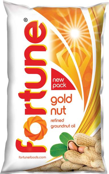 Fortune Gold Groundnut Oil Pouch