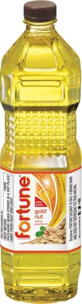 Fortune Refined Groundnut Groundnut Oil Plastic Bottle