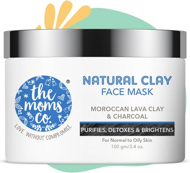 The Moms Co. Natural Clay Face Mask (100 ml)