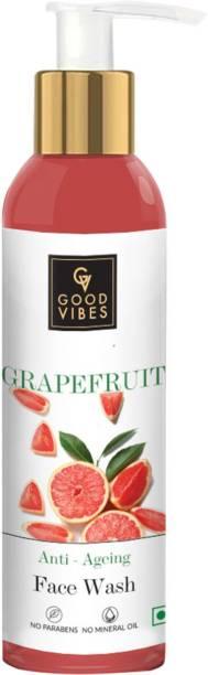 GOOD VIBES Anti-Ageing  - Grapefruit Face Wash