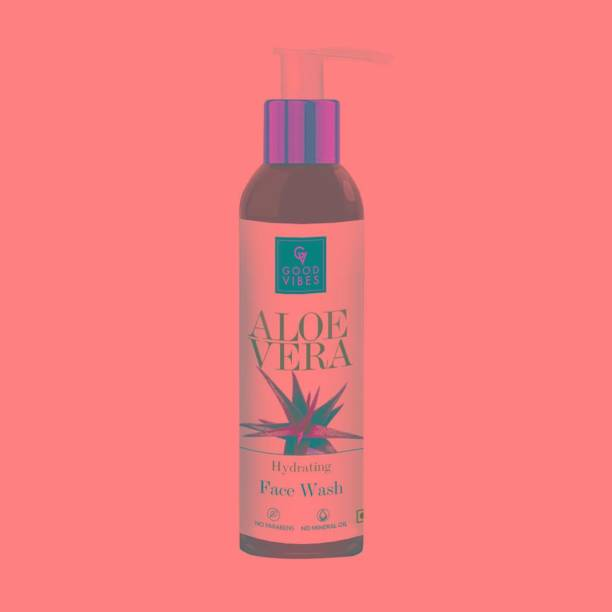 GOOD VIBES Hydrating  - Aloe Vera Face Wash