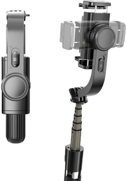 TSV 1-Axis Multifunction Remote 360°Automatic Rotation L08 Gimbal Stabilizer 3 Axis Gimbal