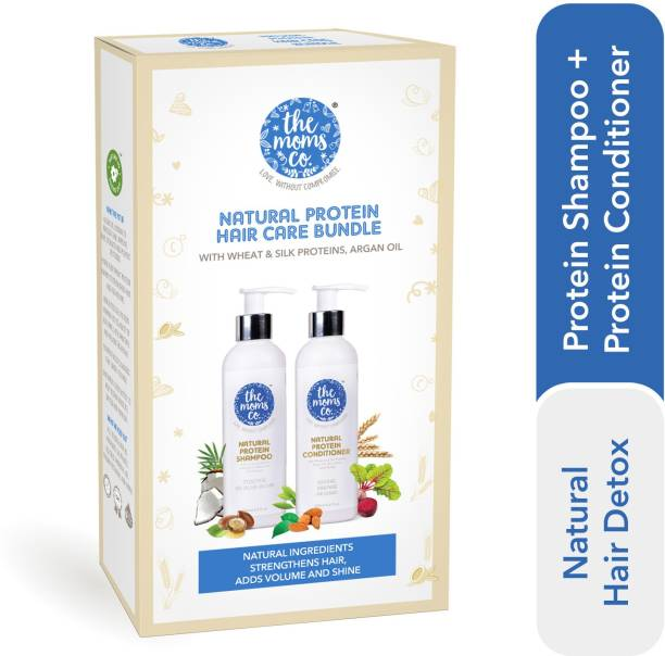 The Moms Co. Natural Protein Hair Detox Kit