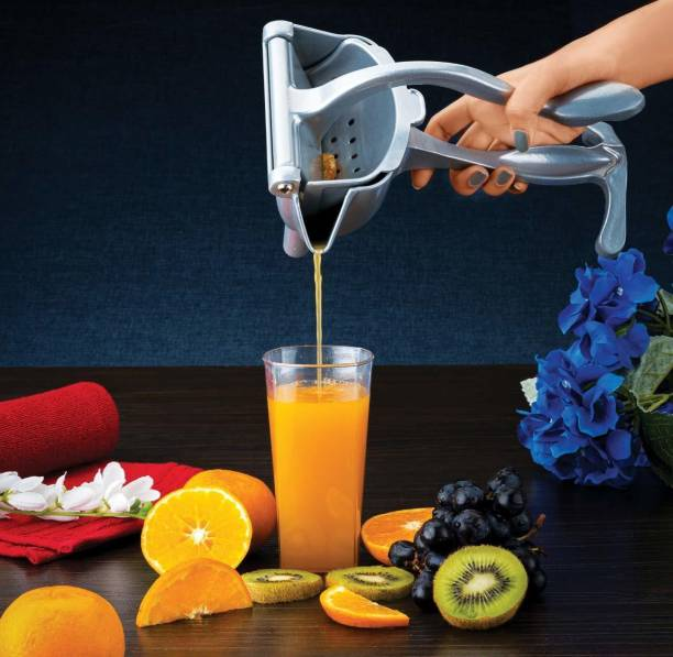 Vikas Aluminium Hand Juicer Manual Hand Juicer Squeezer Heavy Duty Lime Orange Grape Fruit Presser Extractor Maker Aluminum Steel